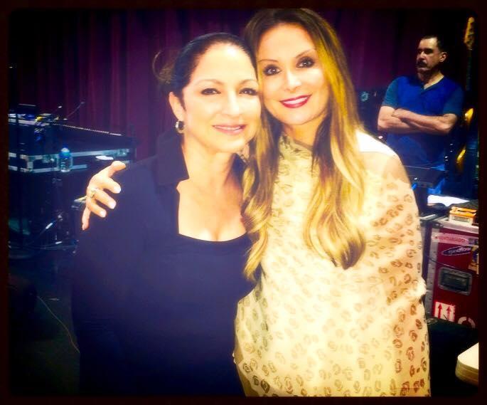 Giada et Gloria Estefan (mai 2015)