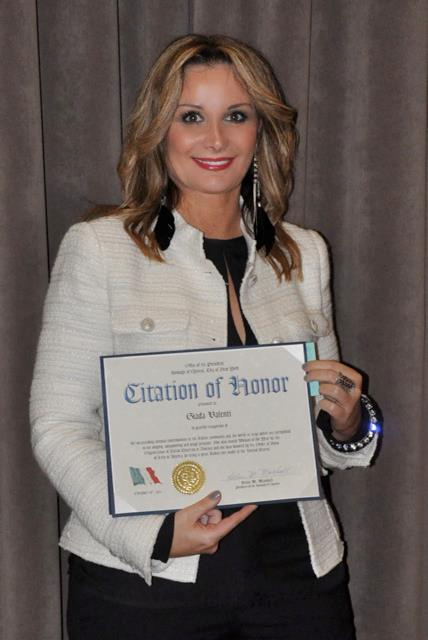 Giada citation of honor 1