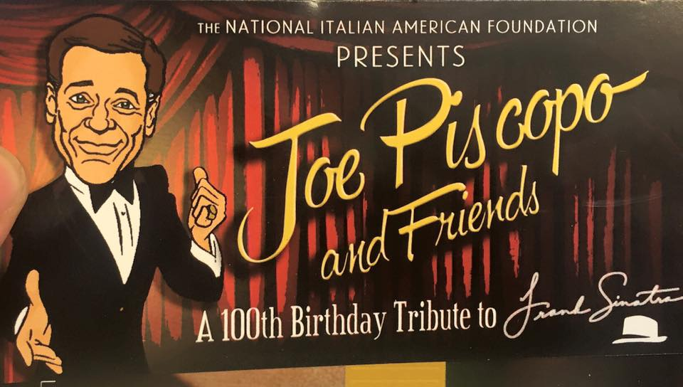 Joe piscopo and friends tribute franck sinatra 16102015