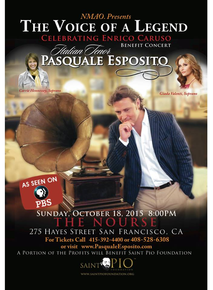 Pasquale esposito the voice of a legend 18102015